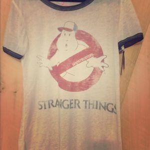 Stranger Thinga Graphic Tee (NWT)